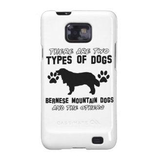 artículos del regalo del perro de montaña bernese samsung galaxy SII carcasa