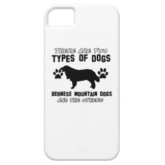 artículos del regalo del perro de montaña bernese iPhone 5 carcasa