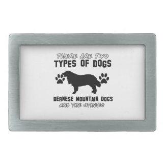 artículos del regalo del perro de montaña bernese hebillas cinturón rectangulares