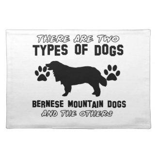 artículos del regalo del perro de montaña bernese mantel