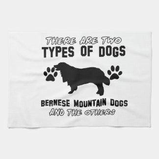 artículos del regalo del perro de montaña bernese toalla de cocina