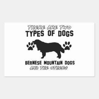 artículos del regalo del perro de montaña bernese rectangular altavoces