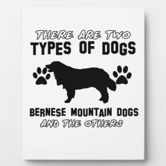 artículos del regalo del perro de montaña bernese placas para mostrar