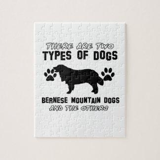 artículos del regalo del perro de montaña bernese rompecabezas con fotos