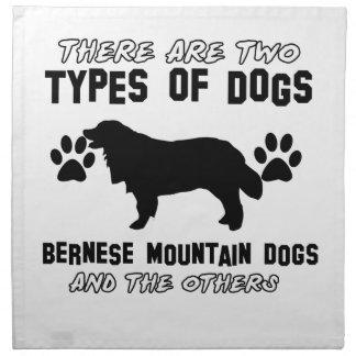 artículos del regalo del perro de montaña bernese servilletas