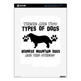 artículos del regalo del perro de montaña bernese pegatinas skins para iPad 3