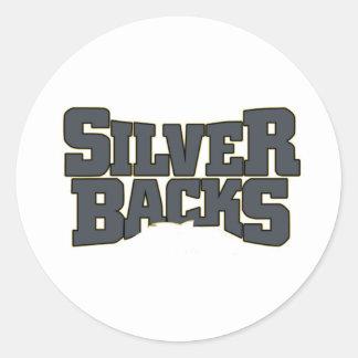 Artículos del Silverback Etiqueta Redonda