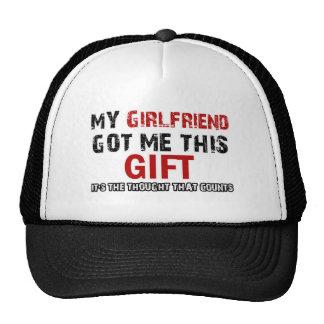 Artículos divertidos del regalo gorra