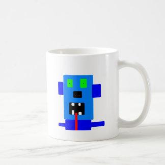 artículos enojados del monstruo 4 tazas de café