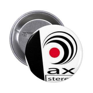 Artículos estéreos del logotipo del Pax Pins