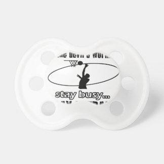 artículos impresionantes del regalo del netball chupete de bebé