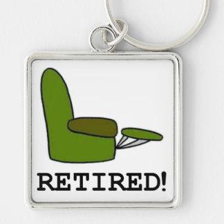 Artículos jubilados llavero personalizado