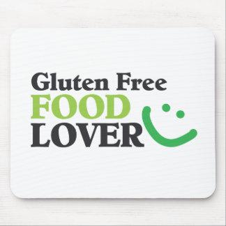 Artículos libres del amante de la comida del glute tapete de raton