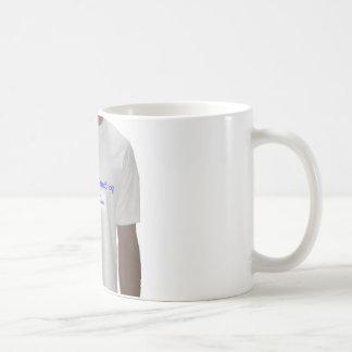 artículos personalizados taza básica blanca