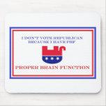 Artículos políticos alfombrillas de raton