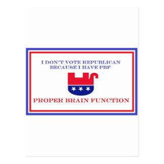 Artículos políticos tarjetas postales