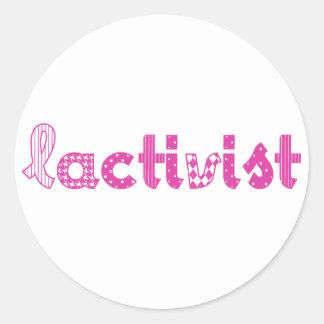 Artículos pro-lactancia /Breastfeeding advocacy Pegatina Redonda