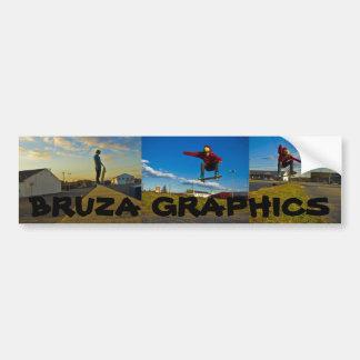 artie 2, artie 4, artie 5, BRUZA GRAPHICS Bumper Sticker