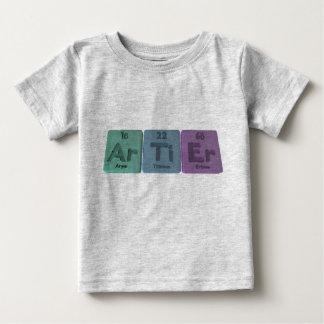 Artier-AR-Ti-Er-Argón-Titanio-Erbio Playera
