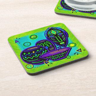 Artifact African Pop Art Coaster