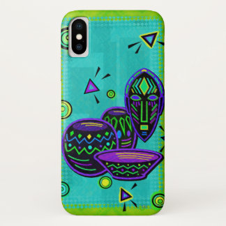 Artifact African Pop Art iPhone X Case