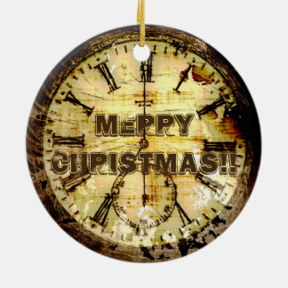 Artifact of Time - Pocket Watch Ceramic Ornament