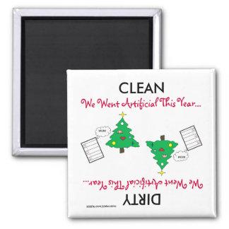 Artificial Christmas Cartoon Dishwasher Magnet