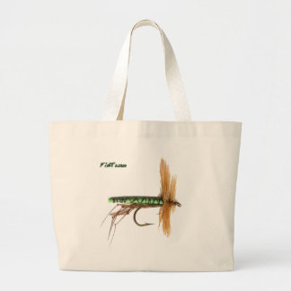 Artificial Fish Baits by FishTs Large Tote Bag