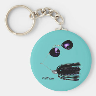 Artificial Fishing Baits Keychain