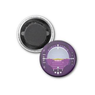 artificial horizon - violet magnet