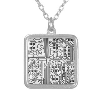 Artificial-Influence Silver Plated Necklace