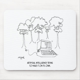 Artificial Intelligence Cartoon 3633 Mouse Pad