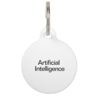 Artificial Intelligence Pet Nametags