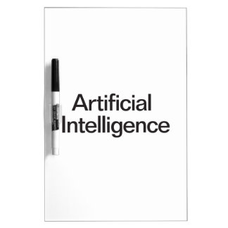Artificial Intelligence Dry-Erase Whiteboard