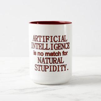 Artificial intelligence Two-Tone coffee mug
