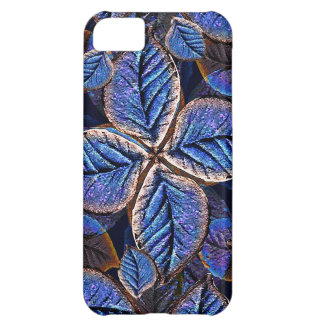 Artificial Leaves Composition Cover For iPhone 5C