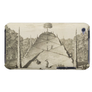 Artificial Mount Parnassus, engraved by Johannes V iPod Touch Case