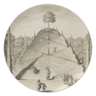 Artificial Mount Parnassus, engraved by Johannes V Plate