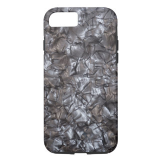 Artificial Nacre Texture in Gray iPhone 8/7 Case
