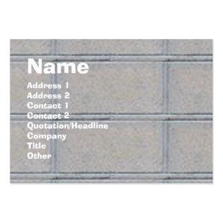 Artiisan  BRICK Presentation Large Business Card