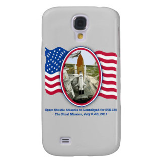 Artiistic Rendering of Space Shuttle Atlantis Samsung Galaxy S4 Cover