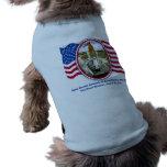 Artiistic Rendering of Space Shuttle Atlantis Doggie T Shirt