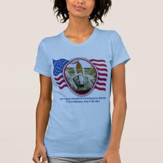 Artiistic Rendering of Space Shuttle Atlantis T-Shirt