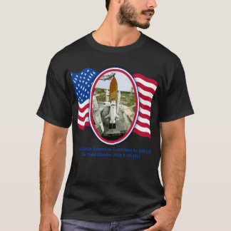 Artiistic Rendering of Space Shuttle Atlantis T-Shirt