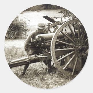 Artillería de 1920 americanos pegatinas