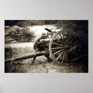 Artillería de 1920 americanos posters