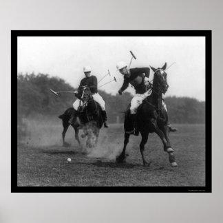 Artillería de campaña 1926 del partido del polo impresiones