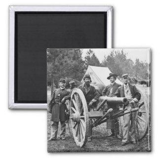 Artillería de la guerra civil, 1860s imán cuadrado
