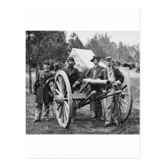 Artillería de la guerra civil, 1860s postal