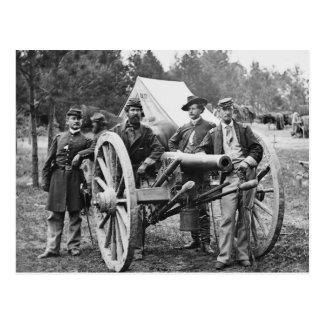 Artillería de la guerra civil, 1860s postales